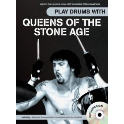 Play Drums with Queens of the Stone Age (+CD) : for vocal/drums