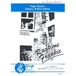 Machell, David (Dave): Ragtime Frankie : for trumpet (tenor saxophone) and piano