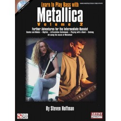 Hoffman, Steven: Learn to Play Bass with Metallica Vol.2 (+CD) : for bass/tab