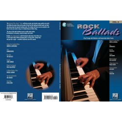 Rock Ballads (+CD) : Songbook keyboard (piano) / vocal / guitar