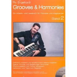 Engelhardt, Ric: Grooves & Harmonies Band 2 (+CD-ROM) : für Jazz-Klavier