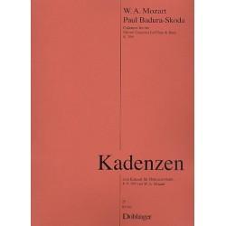 Badura-Skoda, Paul: Kadenzen zu Mozarts Konzert für Flöte und Harfe KV599 : für Flöte und Harfe Spielpartitur