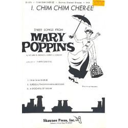 Sherman, Richard M.: Chim Chim Cher-ee : for mixed chorus (SAB) and piano