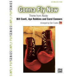 Conti, Bill: Gonna fly now : for intermediate piano solo