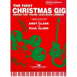 The first Christmas Gig : for combo Bass clef instruments
