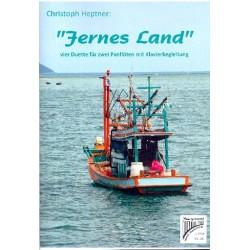 Heptner, Christoph: Weites Land : für 2 Panflöten und Klavier Stimmen