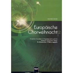 Europäische Chorweihnacht Band 2 : für Männerchor a cappella Partitur (dt/orig)