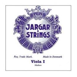 Jargar Viola Saite A, Chrimstahl, Schlinge, medium