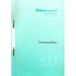 Literaturliste D3