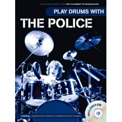 Play Drums with The Police (+CD) : for vocal/drums
