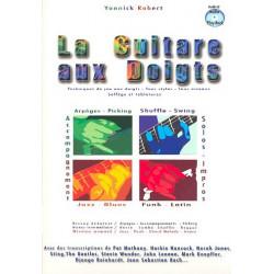 Robert, Yannick: La guitare aux doigts (+CD) (frz)