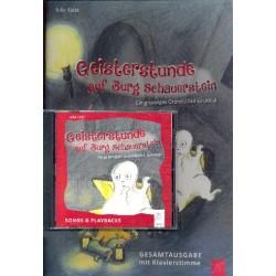 Kolat, Julia: Geisterstunde auf Burg Schauerstein (+CD) : f├╝r Gesang, Sprecher und Klavier Partitur (Klavier)