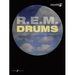 R.E.M. (+CD) : Authentic drums Playalong songbook vocal/drums