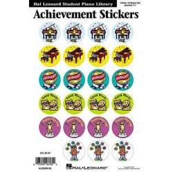 Achievement Stickers : 2 sheets 48 stickers
