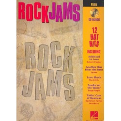 Rock Jams (+CD) : for violin