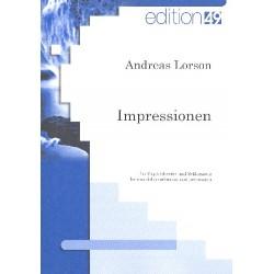 Lorson, Andreas: Impressionen : für Zupforchester und Schlagzeug Partitur