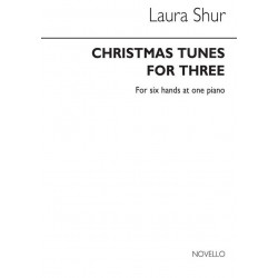 Christmas Tunes for three : for piano 6 hands score