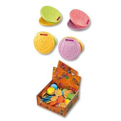 Voggenreiter Tier-Kastagnette für Kleine in diversen Farben