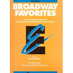 Broadway Favorites : for drums / percussion