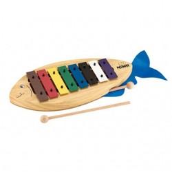 Nino Percussion Glockenspiel Fisch