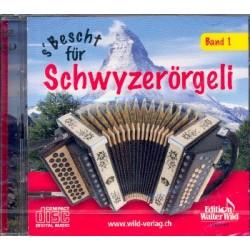 S' Bescht für Schwyzerörgeli Band 1 : 2 CD's