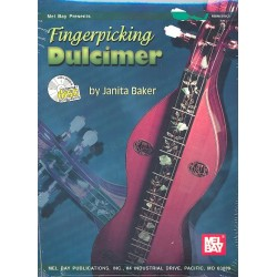 Baker, Janita: Fingerpicking Dulcimer (+CD)