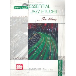 Wilkins, Jack: Essential Jazz Etudes - The Blues (+CD) : for bass/trombone