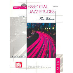 Wilkins, Jack: Essential Jazz Etudes - The Blues (+CD) : for bass/trombone