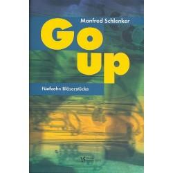 Schlenker, Manfred: Go up : für 4-6 Blechbläser (Ensemble) Spielpartitur