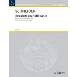 Schneider, Enjott (Norbert J├╝rgen): Requiem pour Erik Satie : f├╝r Klavier und Congas Stimmen