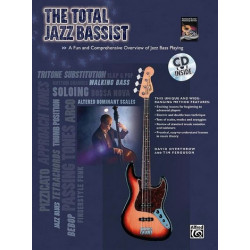 Overthrow, David: The total Jazz Bassist (+CD)