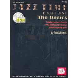 Briggs, Frank: Jazz Time vol.1 - The Basics (+CD) : for drumset