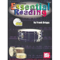 Briggs, Frank: Essential Reading (+CD): for drumset