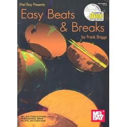 Briggs, Frank: Easy Beats & Breaks (+CD): for drumset
