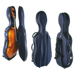 """MK Cellocase """"Lite plus"""" 4/4 (4,6kg) blau"""