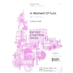 Houllif, Murray: Moment of Pink : for bells, xylophone, vibes, marimba, drum set, tambourine,conga drum score and parts