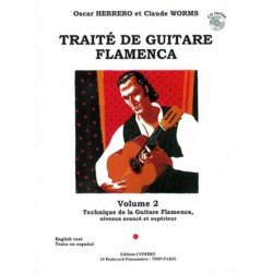 Herrero, Oscar: Traité de guitare flamenca vol.2 (+CD) : pour guitare/tablature
