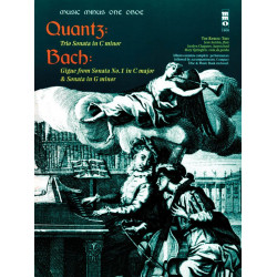 Music minus one Oboe - Quantz and Bach (+CD) : oboe part