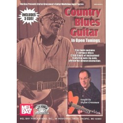 Country Blues Guitar in Open Tunings (+3 CD's) : for guitar/tab