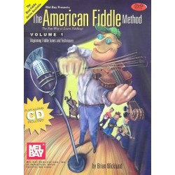Wicklund, Brian: The American Fiddle Method vol.1 (+DVD +CD): for violin
