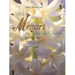 Mozart, Wolfgang Amadeus: Quintet E flat major KV452 for piano, oboe, clarinet, horn and bassoon Playback-CD for bassoon