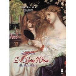 Lehár, Franz: Die Lustige Witwe (Highlights) (+CD) vocal score (dt)