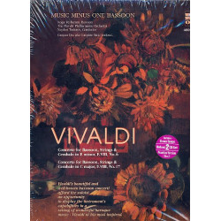 Vivaldi, Antonio: 2 Concertos for Bassoon, Strings and Cembalo (+2 CD's) for bassoon