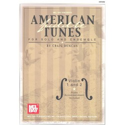 American Tunes : for strings and piano Piano accompaniment and parts for violin 1 and violin 2