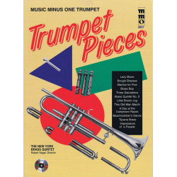 Music minus one trumpet : trumpet pieces Book and CD
