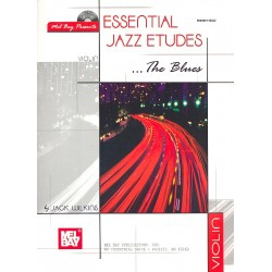Wilkins, Jack: Essential Jazz Etudes - The Blues (+CD) : for violin