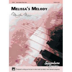 Mier, Martha: Melissa's Melody : for piano