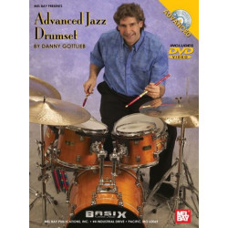 Gottlieb, Danny: Advanced Jazz Drumset Chart (+DVD-Video)