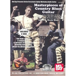 Masterpieces of Country Blues Guitar (+3 CD's) : for guitar/tab