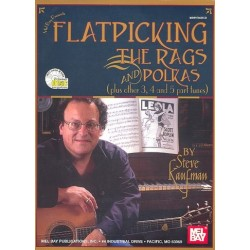 Kaufman, Steve: Flatpickin' the Rags and Polkas (+2 CD's) : for guitar